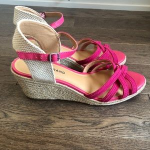 Like New Lucky Brand Wedge Sandals